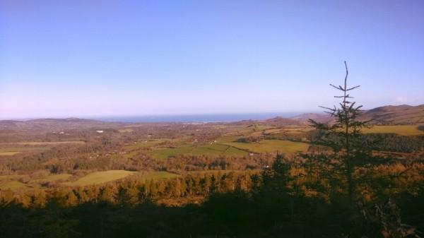 Irish Sea (Bray) from Maulin
