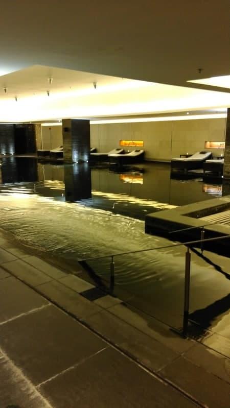 Twinkly pool - Powerscourt Spa